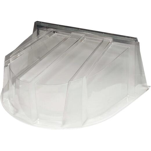 Wellcraft 59 In. x 44 In. Polycarbonate Window Well Dome Cover