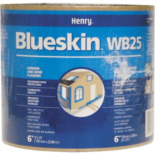 Henry Blueskin WB25 6 In. X 75 Ft. Window Wrap & Flashing Tape