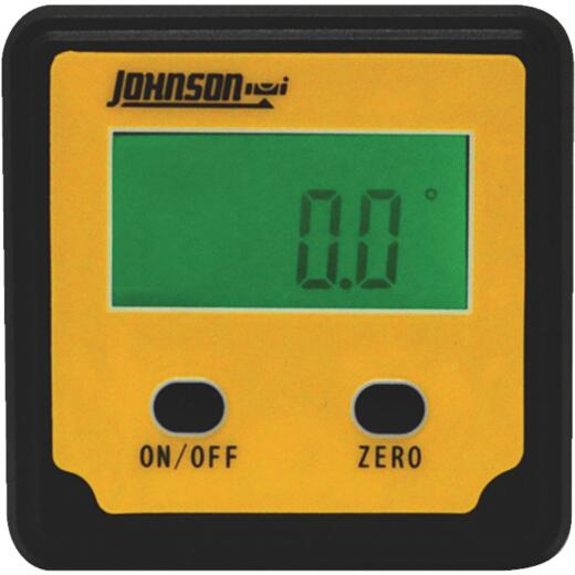 Johnson Level Plastic Magnetic Digital Protractor Angle Locator