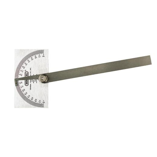 General Tools Steel Square Head Protractor