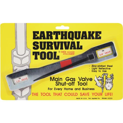 Ready America Gas Shut Off Wrench Earthquake Survival Tool