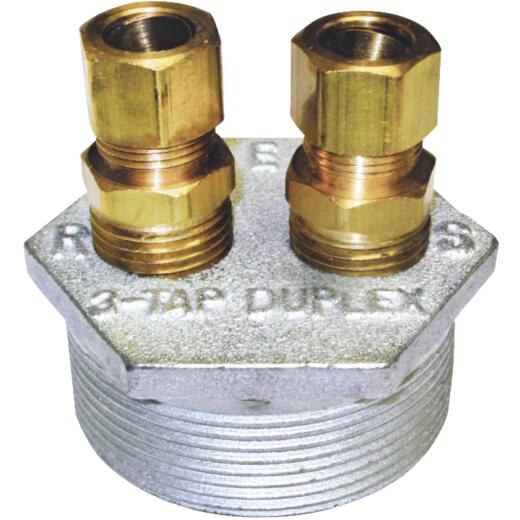Oil Tank 3-Way 3/8 In. Tap Bushing