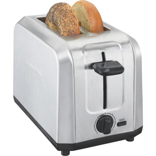 Hamilton Beach 2-Slice Brushed Stainless Steel Toaster