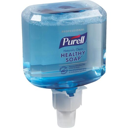 Purell ES6 Professional CRT Healthy Soap Foam 1200 mL Clean Scent Hand Cleaner for Touch-Free Dispenser