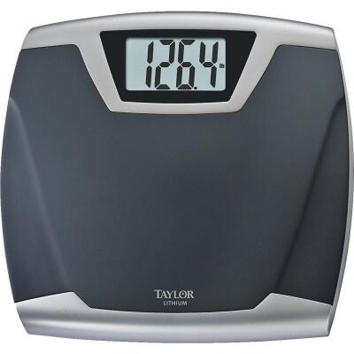 Taylor Digital 440 Lb. Bath Scale, Black