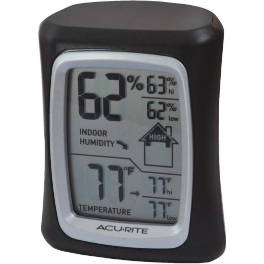 Acurite Fahrenheit & Celsius Digital 32 to 122 F, 0 to 50 C Hygrometer & Thermometer