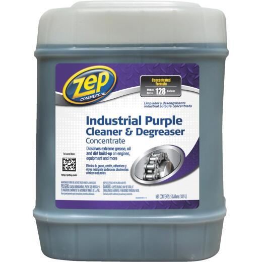 Zep 5 Gal. Industrial Purple Cleaner & Degreaser Concentrate