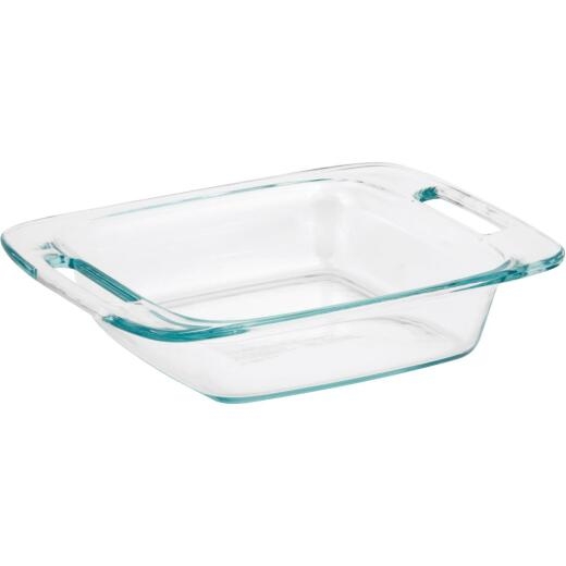 Pyrex Easy Grab 8 In. Square Glass Baking Dish