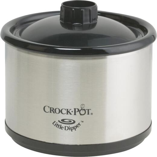 Crock-Pot 0.5 Qt. Stainless Steel Slow Cooker