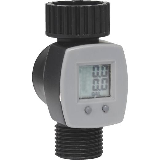 Orbit 3/4 In. Plastic Water Flow Meter