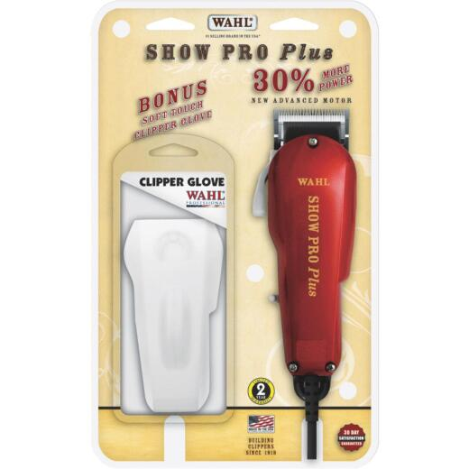Wahl Show Pro Plus Satin Chrome Blade Animal Clipper Kit (6-Piece)