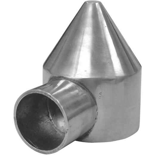 Midwest Air Tech 1-Way Bullet 2-3/8 in. Aluminum Cap