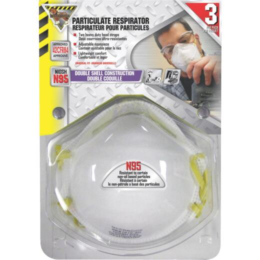 McCordick Glove N95 Dust & Mist Mask (3-Pack)