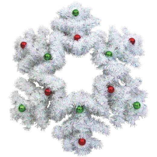 F C Young 18 In. Tinsel Snowflake Holiday Decoration