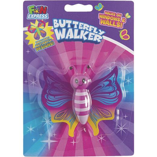 Fun Express 3 In. x 3-1/2 In. Multi-Colored Butterfly Walker